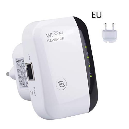 Vkospy Wireless-N WLAN-Repeater-Netzwerk WLAN-Router 300 Mbit/s Range Expander Signal Booster Extender WiFi Ap WPS-Verschlüsselung