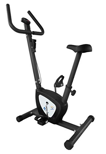 Star Shaper KC1422 Compact Exercise Bike | Adjustable Tension | Easily Transportable | Track Your Progress | More