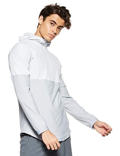 Under Armour Men's Vanish Hybrid Jacket , Halo Gray (014)/White , X-Large