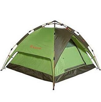 Pathfinder Outdoor Zelt DREI Zelte Hydraulische Automatische Camping Bunker, grün