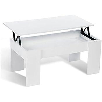 13Casa B09 Granada Table dappoint en m/élamine 100 x 50 x 45 cm
