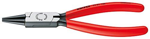 Knipex 22 01 125 Alicate de boca redonda, 125 mm, Multicolor