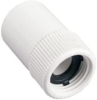 2 Pack - Orbit 3/4 Inch Slip x FHT PVC Hose-to-Pipe Sprinkler Fitting
