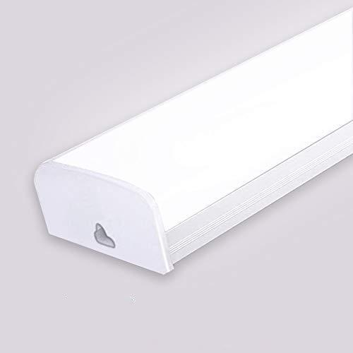 LED Röhre Garage Lampe 60W 120cm Schattenlos Licht Kaltweiß LED Werkstattlampe Garagenleuchte Beleuchtung für Garage Werkstatt Lager Büro (60W)