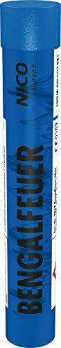 Bengalfeuer Blau 1 Stück Bengalfeuer Nico Bengalen Bengalo Feuerwerk