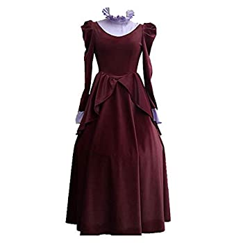 Princess Cinderella Stepmother Dress Adult Cinderella Lady Tremaine red Dress Cosplay Costume