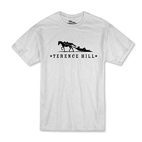 Terence Hill T-Shirt Official Logo (Weiss) (L)