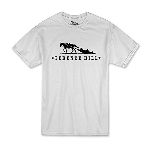 Terence Hill T-Shirt Official Logo (Weiss) (XXL)
