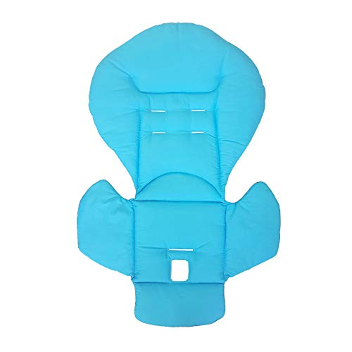 Aveanit Peg Perego Prima Pappa Diner - Funda para trona (100% algodón), color azul claro