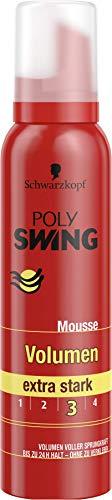Schwarzkopf Poly Swing Volumen Schaumfestiger, Extra Strong Halt 3, 1er Pack (1 x 150 ml)