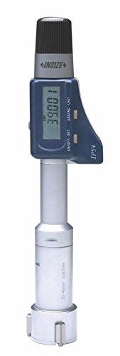 INSIZE 3127-25 - Micrómetro digital de 3 puntos con anilla de ajuste, 20 mm-25 mm
