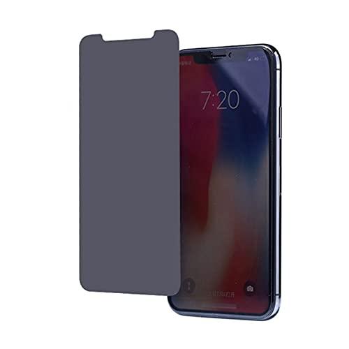 YJHL Qiqibh para iPhone X XR XS MAX SE2 2020 6 6S 7 8 Plus 3D Privacidad Film Protector de Pantalla de Cristal Templado para i- Phone 12 Pro MAX Mini 11 Pro MAX HD Película de privacidad de Cine