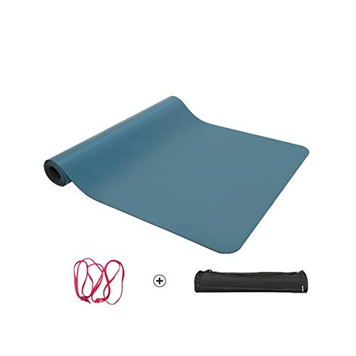 PR 183 * 68 * 5mm Lululemon Fabrik PU-Gummi-Yoga-Matten Hersteller (Color : Blue)