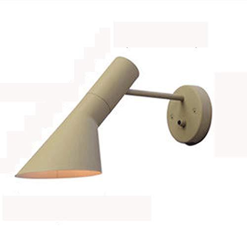 Aplique de pared Lámparas de escoce de pared Lámparas de iluminación con interruptor de apagado, lámpara de pared E27 Titular de la lámpara con pintura helada Lámpara de noche Lámpara de vanidad de ba
