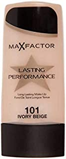 Max Factor Lasting Performance Foundation 101, Ivory Beige (30MF6027642-101)