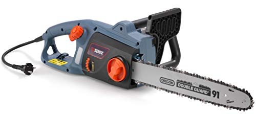 SENIX Elektro-Kettensäge, leistungsstarker Quermotor mit 1.800 Watt, 35 cm Schnittlänge, einfache Handhabung, GS-geprüfte Sicherheit, 3 Jahre Garantie