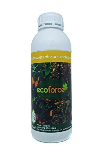 CULTIVERS Fertilizante Ecológico para Cítricos Líquido de 1 L. Hojas más Verdes y Aumenta del Tamaño Fruto. Abono 100% Natural