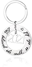 Graduation Gifts Keychain Class of 2021 Graduate She Believed She Could So She Did (2021 She Believed She Could So She Did)