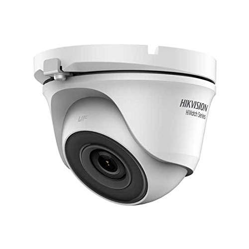 Andromedastore®Hikvision HWT-T120-M Hiwatch series telecamera dome 4in1 TVI/AHD/CVI/CVBS hd 1080p 2Mpx 2.8mm osd IP66