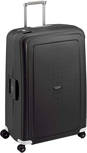 Samsonite S'Cure - Valigia, 138 l, XL (81 cm - 138 L), Nero (Black)