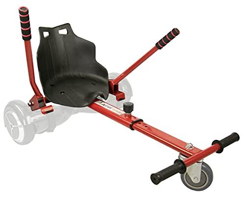 Airel Hoverkart | No Incluye Hoverboard | Hoverkart Metal | Hoverboard Asiento Kart | Hoverkart Asiento Kart | Medidas: 55x47x20 cm