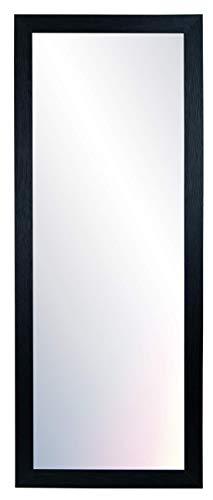 Chely Intermarket, Espejo de Pared Cuerpo Entero 35x100cm (42,50x107,50cm) Negro/Mod-146, Ideal salón, Comedor, Dormitorio y oficinas. Fabricado en España. Material Madera.(146-35x100-4,15)