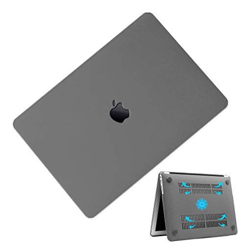 MacBook Air 13インチ A1932/A2179 ケース 2020 2019 2018 モデル MacBook Air 13inch ケース マックブックエアー 13インチ ハードケース MacBook Air 13 Retina 対応 ケース 耐衝撃 薄型 全面保護 かわいい おしゃれ シェルカバー 薄型 スリム 軽量 マックブック カバー マット グレー
