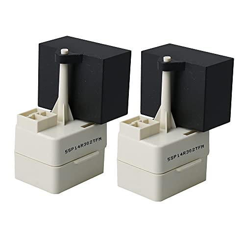 BQLZR W10613606 - Relé para compresor de refrigerador, 2 unidades