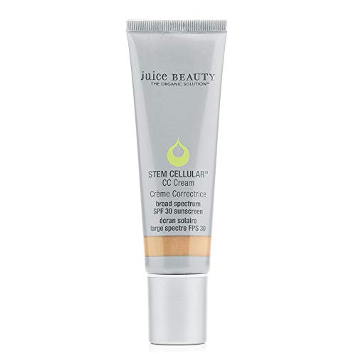 Juice Beauty Stem Cellular CC Cream, Beach Glow - SPF 30 Broad Spectrum Sunscreen and Color-Correcting Face Cream - Vegan, Made with Certified Organic Ingredients (1.7 Fl Oz)
