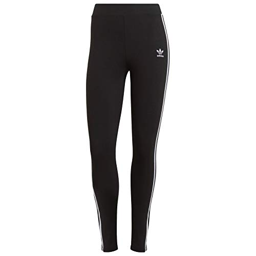 adidas Originals,womens,3-Stripes Tights,Black,Large