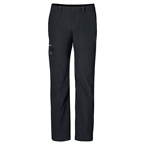 Jack Wolfskin Chilly Track XT Pantalon Homme, Black, FR : XL (Taille Fabricant : 54)