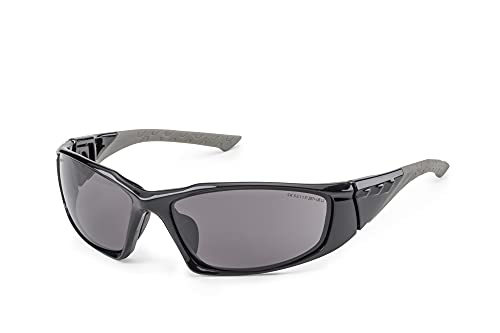 SOLID. gafas proteccion trabajo sol con ajuste perfecto y protección lateral integrada | gafas de seguridad de sol con lentes transparentes, resistentes a los arañazos, antivaho y con protección UV