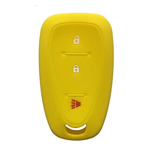 NFRADFM Cubierta de llave remota de coche de 3 botones, para Chevrolet Equinox 2019 Malibu Spark Car Accesorios