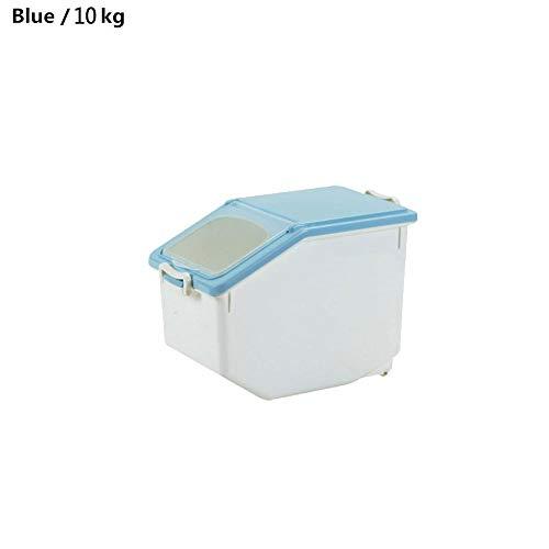 Dadahuam Récipient de Riz, récipients de Stockage des Aliments en Plastique hermétiques, boîte de Rangement étanche à l'humidité, Parfait pour Les récipients de céréales à Grains Alimentaires secs
