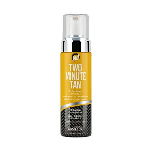 Pro Tan Zwei Minute Tan, Sunless Bronzer Instant-Glow Dunkle Tanning Gel - 237 ml