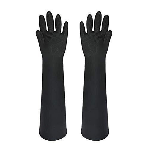 Lamptti Animal Handling Handschuhe Bissfest für Hundekatze - Animal Handling Anti-Biss- / Kratzerhandschuhe Sichere Dauerhafte Atmungsaktive Canvas-Futterhandschuhe zum Baden, Pflegen