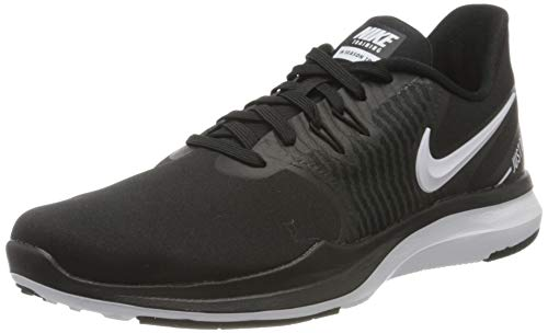 Nike Damen Trainigsschuh In-Season TR 8 Fitnessschuhe, Schwarz (Black/White-Anthracite 001), 39 EU
