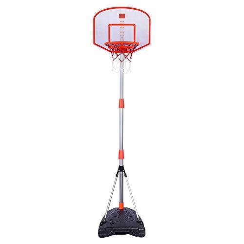 BYASW Canasta de Baloncesto Tablero con Dispositivo de Puntuación Altura Ajustable Canasta Baloncesto Infantil