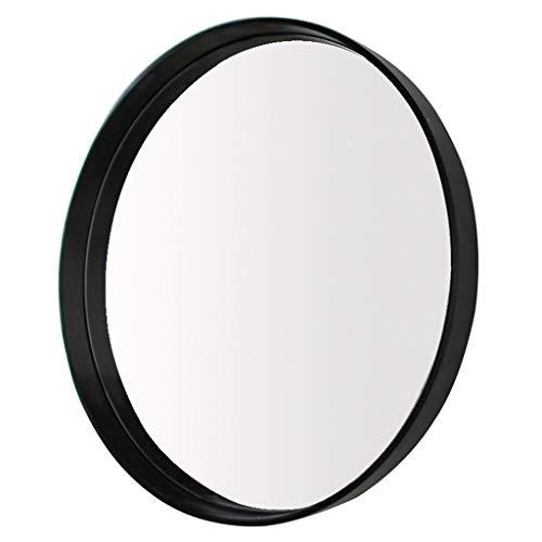 Ameublement et décoration Décoration de la maison Miroir rond noir Miroir de salle de bain domestique Miroir de douche noir Miroir mural de salle de bain Miroir de salon Miroir miroir de chambre Miroi