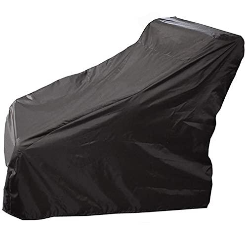 Funda protectora para silla de ruedas, funda para scooter, impermeable, transpirable, para silla de ruedas eléctrica, para muebles de jardín, tela Oxford, resistente al desgarro, negro, 115x65