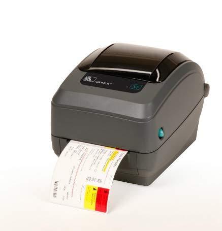 ZEBRA GX430t Wärmeübertragung 300 x 300 DPI Direkt Wärme Etikettendrucker