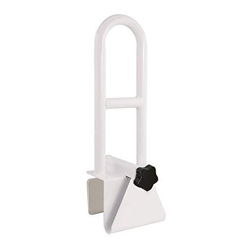 KXT Premium Bathroom Tub Safety Rail for Seniors, Clamp Railing Bath Support Adjustable Shower Hand Grip Handle Assist Grab Bar