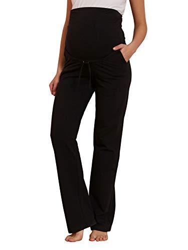 Vertbaudet Umstands-Yogahose, für die Schwangerschaft und danach schwarz 40/42