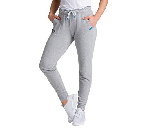 ARENA Damen Jogging Hose Te Fleece Pantalones de Correr, Mujer, Color Gris, Extra-Large