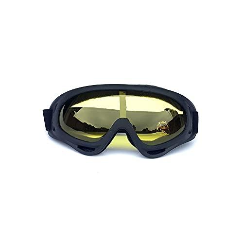 CZFSKCZ Gafas de esquí, Gafas de Motocicleta, Gafas de Snowboard para Hombres Mujeres (Color : D)