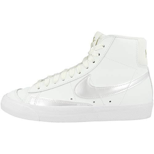 Nike Mid Blazer Mid '77 - Zapatillas deportivas para mujer, color Blanco, talla 40 EU