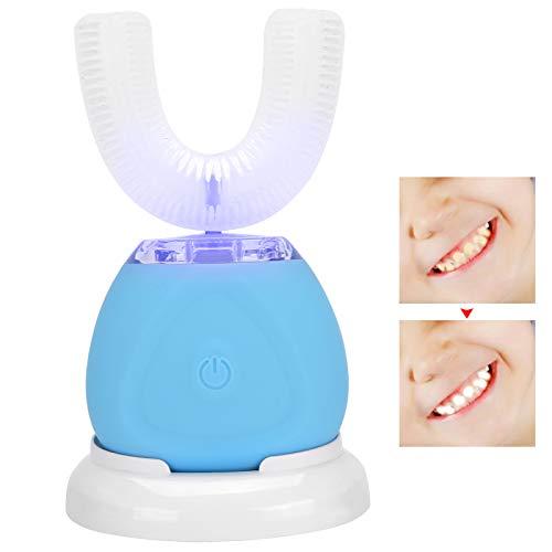 Cepillo de dientes eléctrico en forma de U, cepillo de dientes con...