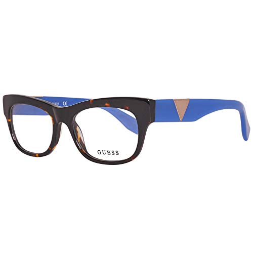 Guess Brille GU2575 51056 Monturas de gafas, Marrón (Braun), 51 para Mujer