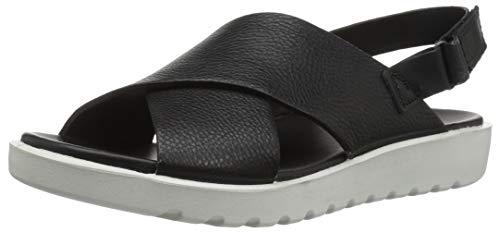 ECCO Women's Freja Slide II Sandal, Black, 40 M EU (9-9.5 US)