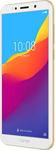 "Honor 7S - Smartphone Android 8.1 (Pantalla FullView de 5,45"" 18:9, 4G, Cámara Trasera 13Mpx y Frontal 5Mpx, 2GB RAM, 16GB ROM, Quad Core, 3020 mAh), (Dorado)"